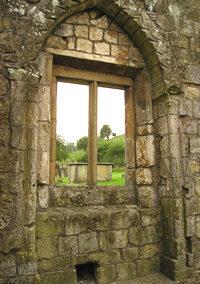 St Martin's – interior detail – window
