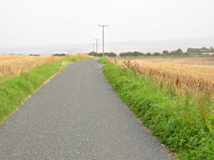 Road across the Wolds