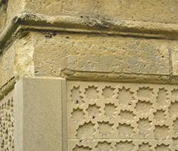 Gatepost detail – Whitwell Road