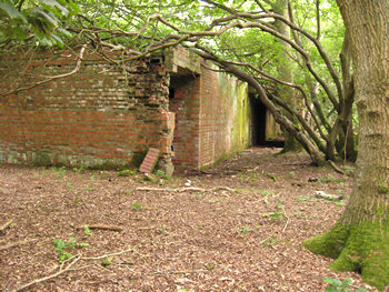 Brick buildings – remains of WW2 airfield, Ricall/Skipwith